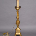 candle stick lamp after restoration