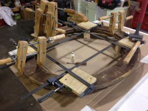 frame restoration- during