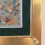 frame with matting